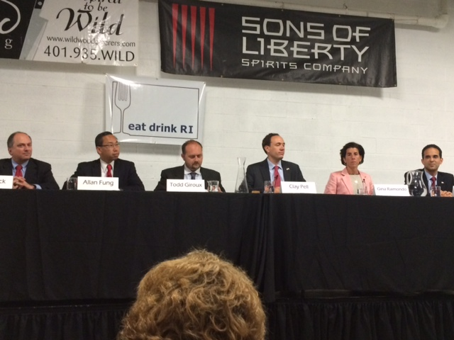 rhode island gubernatorial candidates town hall sons of liberty 2014