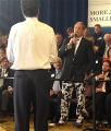 VIBCO President asks GOP Candidate Mitt Romney a Question Wearing Bold Pants