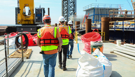 tappan zee bridge rebuilding project vibco vibrators team shot