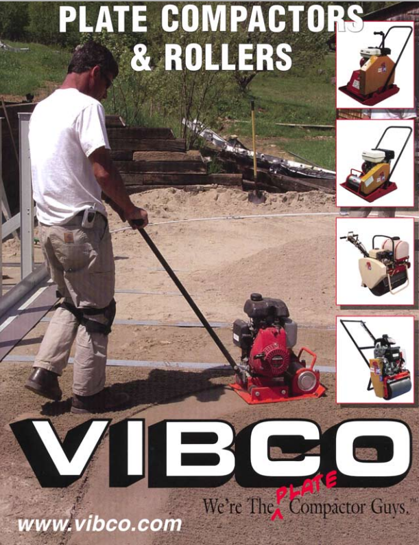 vibco vibratory roller catalog cover